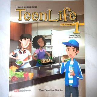 Teen Life Home Economics Secondary 1
