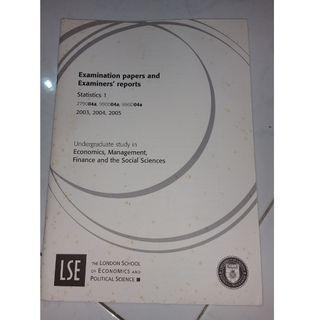 LSE Statistics 1 exam guide
