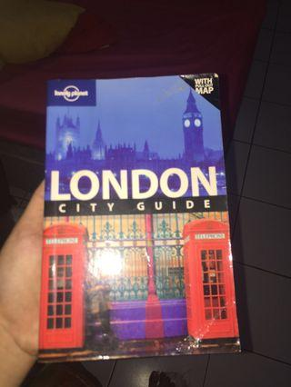 Lonely planet: LONDON travel guide with map