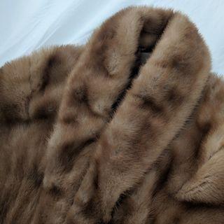 Vintage Fur Shawl