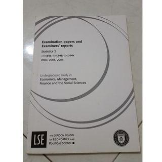 LSE Statistics 2 exam guide