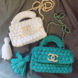 🚚 Customized Handmade crochet bags