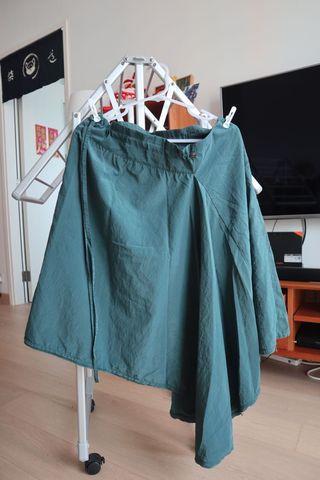 Initial 墨綠色半裙 2號 9new
