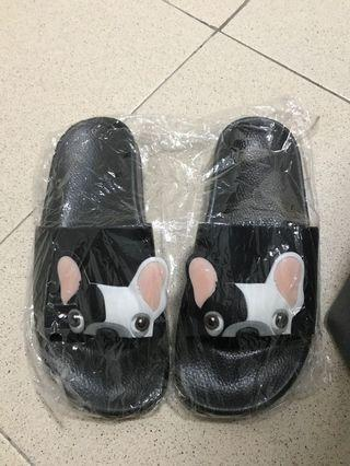 Dog slip on slippers