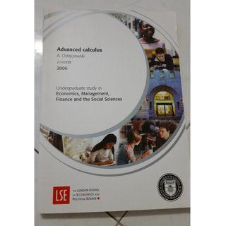 LSE Advance Calculus study guide