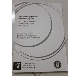 LSE Introduction to Economics exam guide