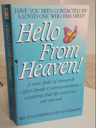 Vintage Hello from heaven book paperback life after death
