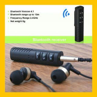 Audio Bluetooth Receiver with Play/Pause/Skip/Volume Control and Mic