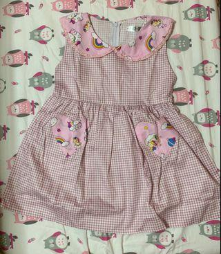 Checkered Hello Kitty Dress (NEW)