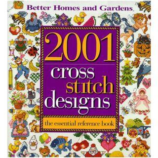 2001 Cross Stitch Designs-The Essential Reference Book 1999 十字繡高清雜誌電子書HD pdf