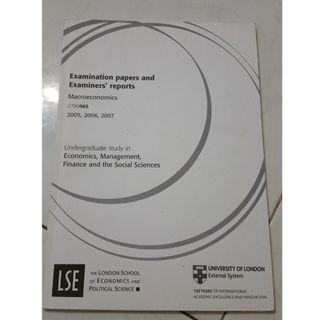 LSE Macroeconomics exam guide