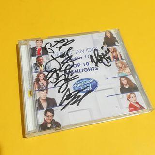 Signed American Idol Album