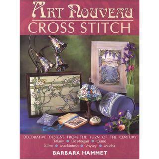Art Nouveau Cross Stitch by Barbara Hammet 2002 十字繡高清雜誌電子書HD pdf