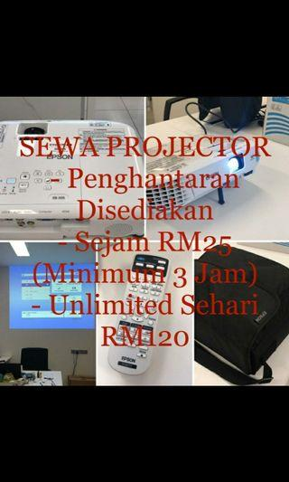 Projector for rent/ sewa projektor