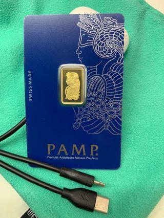 2 sets of 2.5g (999 gold bars) ✔️✔️