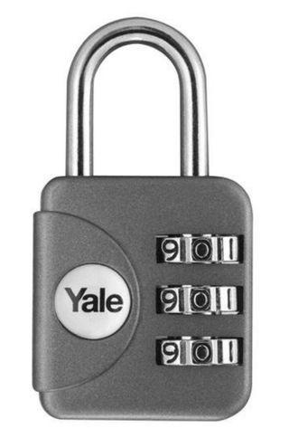 YALE YP1/28/121 - Luggage 3-digit Cominbation Lock 28mm
