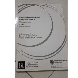 LSE Microeconomics exam guide