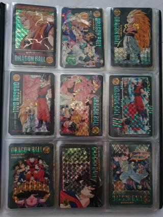 Dragon Ball Cards set A