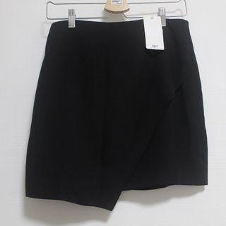 MANGO Suit Wrap Skirt