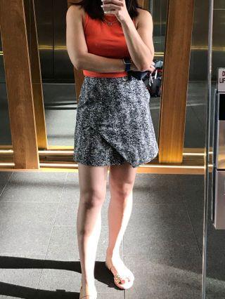 Kookai asymmetric Brixton skirt with pockets | size 36