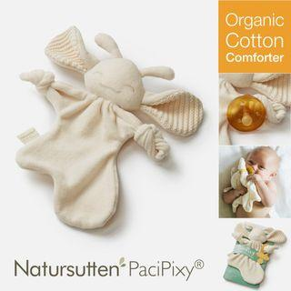 Natursutten PaciPixy Comforter — Organic Cotton Soft Eco Friendly Natural Pixie Fairy Toy Pacifier Soother Holder For Baby Child Children Infant Kids Newborn 安抚巾