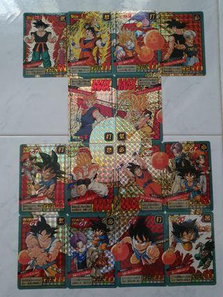 Dragon ball cards set B