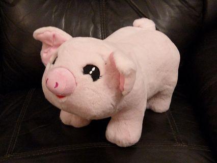 🐷智能可愛小豬無線藍牙喇叭錢罌箱毛公仔Multi-functional Lovely piggy wireless bluetooth speaker money saver plush toy doll