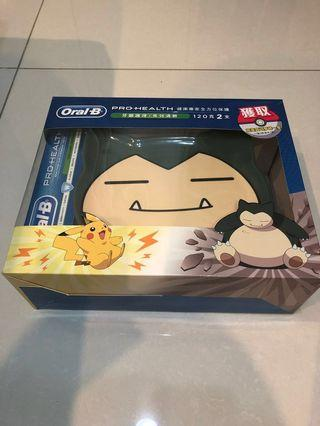 Oral B With Pokemon Collectible Box (Snorlax)