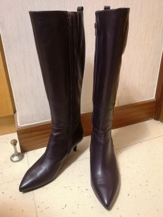 Joyce and Peace Leather Boots 連鞋盒 (不議價🙏)