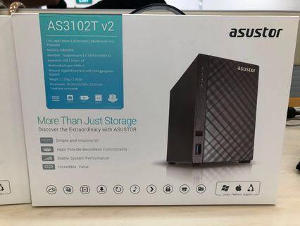 🚚 Asustor 2 Bay NAS (AS3102T V.2)