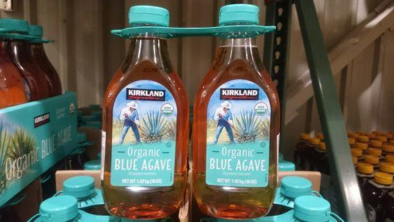 🚚 KIRKLAND科克蘭有機藍色龍舌蘭糖漿1.02kg×2入