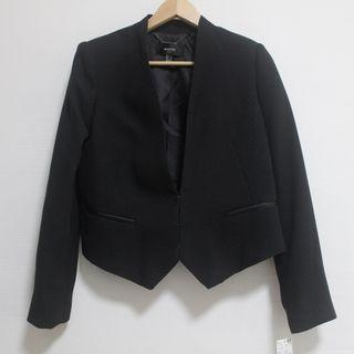 MANGO Black Suit Blazer