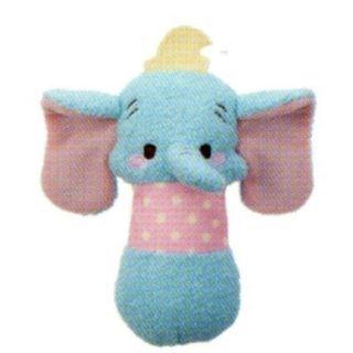 [日本直送] 迪士尼 玩偶造型手搖鈴 小飛象 /米奇/米妮/維尼 (現貨+預購)