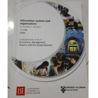LSE Information Systems and Organisations study guide