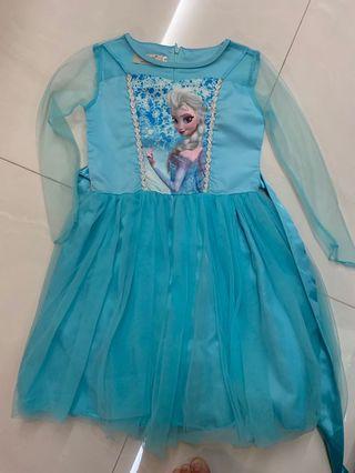 🚚 Girls dress 👗- frozen dress,  cheongsam / Qipao