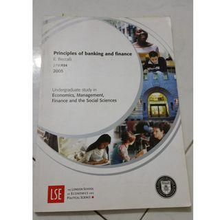 LSE Banking and Finance study guide