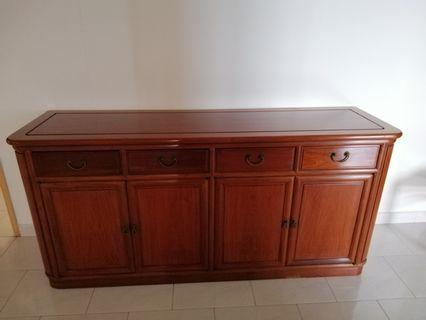 🚚 Rosewood cabinet L172 H82 W19cm