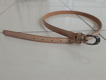 Nude Colour Belt