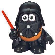 🚚 SALE!!! Darth Vader-Star Wars-Mr Potato Head