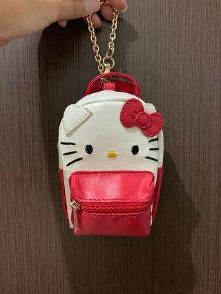 🚚 hello kitty mini backpack pouch