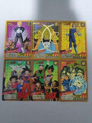 Dragon Ball Cards set H