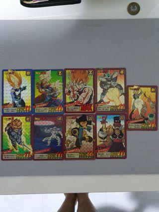 Dragon Ball Cards set I