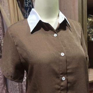 Dress Tunic Coklat