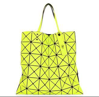 Bao Bao Issey Miyake Lucent Twill Tote in Green