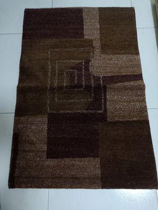Medium Tibetan  Carpet original color 100% wool hand made from tibet