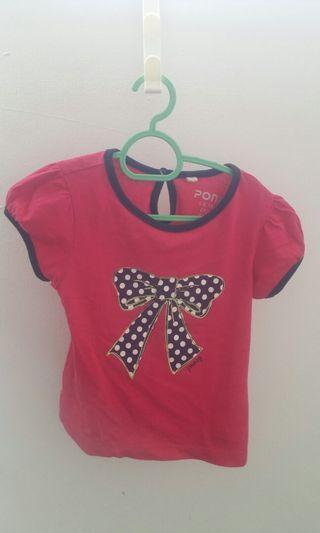 Poney Baby Girl Shirt