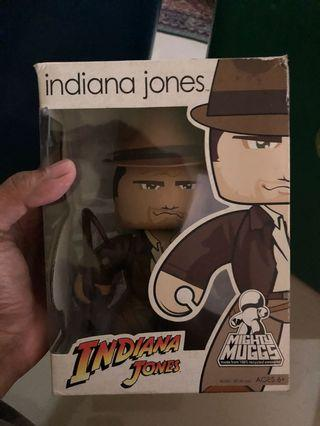 🚚 Indiana Jones Mighty Muggs Rare Out of Production Harrison Ford