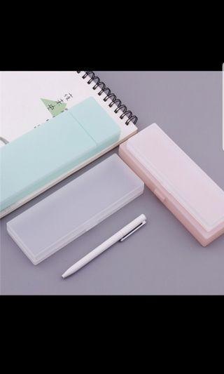 [PO] korean transparent pencil case
