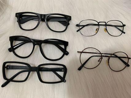 眼鏡框 $20@1 $50@3