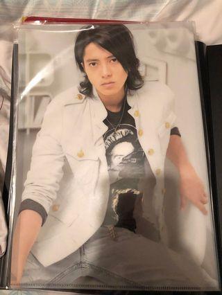 NEWS Concert Tour 2007 山下智久 file folder